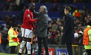 KONTROLL: José Mourinho, Romelu Lukaku og Manchester United ordnet også gruppeseier og er seedet i trekningen. Foto: NTB Scanpix