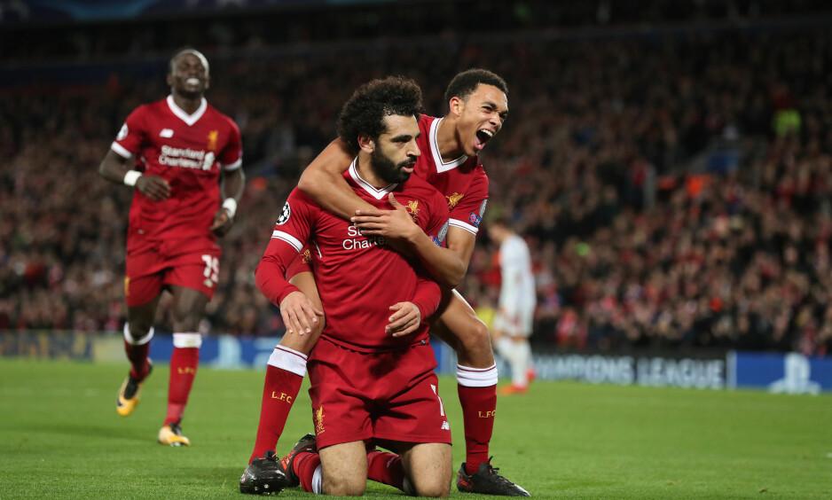 TILBAKE I ÅTTEDELSFINALEN: Liverpool er tilbake i det gode selskap for første gang siden 2009. Foto: Paul Greenwood/BPI/REX/Shutterstock/NTB Scanpix