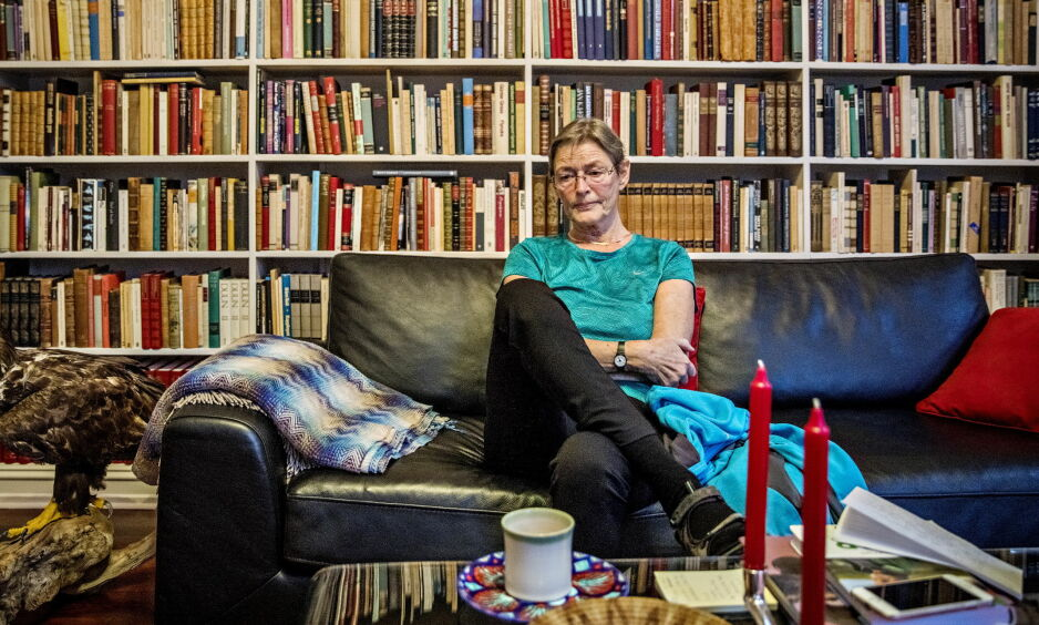 TRIST UTEN PER: Charlotte Fugelli forteller at det var ufattelig trist å komme tilbake til leiligheten deres i Oslo uten Per Fugelli. Foto: Jørn H Moen / Dagbladet