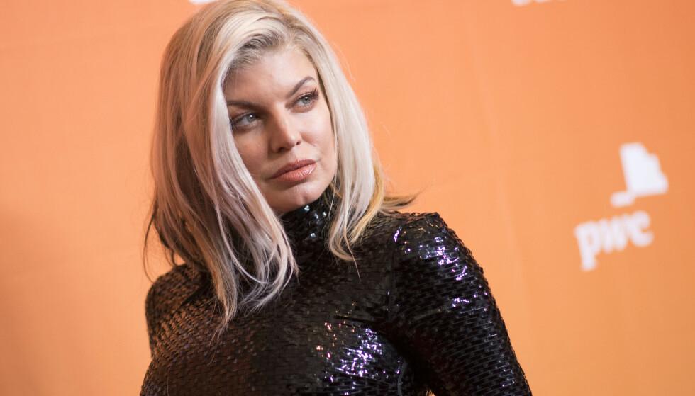 SYNSBEDRAG: Fergie slet med ettervirkninger av rusen et år etter at hun sluttet. - Plutselig så jeg en eller en kanin, sier hun i nytt intervju. Foto: NTB scanpix