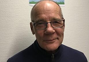 FORNØYD: Direktør Morten Hansson i Max Godis omsetter billige søtsaker for 40 millioner kroner i 2017. Foto: Max Godis