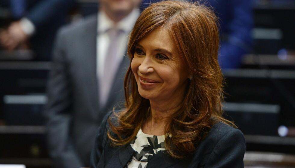UNDER ETTERFORSKNING: Cristina Fernández de Kirchner. Foto: Charly Diaz Azcue / Det argentinske senatet / AFP / NTB Scanpix