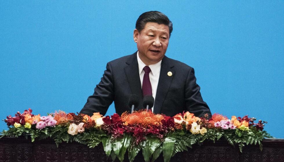PÅ TOPPEN: Kinas president Xi Jinping fotografert 1. desember. Foto: NTB SCANPIX
