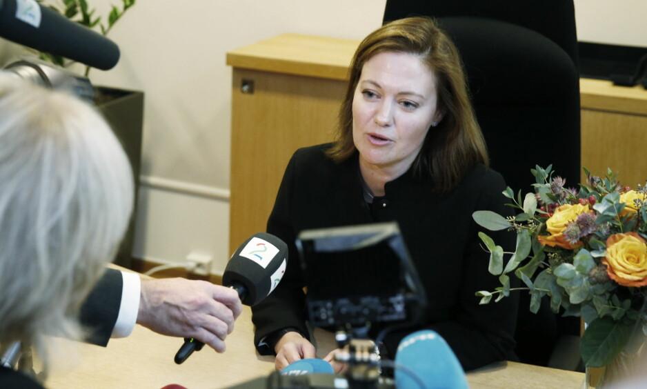 EUROPAMINISTER: Marit Berger Røsland (H) varslar ny EU-strategi. Foto: Henning Lillegård / Dagbladet