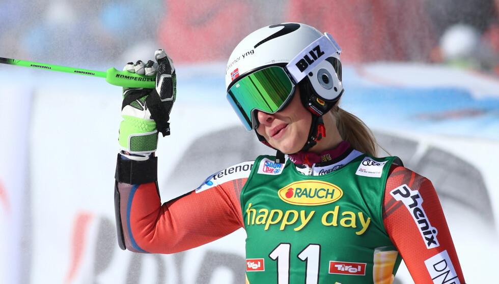 KJØRTE UT: Ragnhild Mowinckel hadde ingen god dag på jobben fredag. Foto: Pierre Teyssot / Splash News