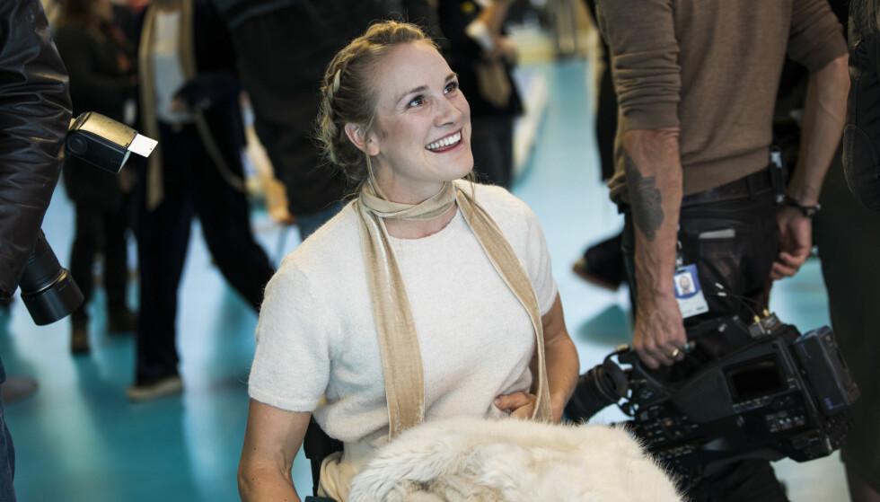 TIL TOPPS: Birgit Skarstein ble fredag kåret til årets paralympiske roer under Det internasjonale roforbundets prisutdelingsgalla. Foto: Mariam Butt / NTB scanpix