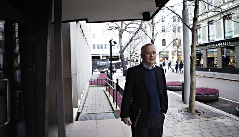 KLART RÅD: Leif Gøran Wasskog , fylkesleder i Finnmark Venstre har et klart råd til Grande. Han mener de er best tjent med å stå utenfor. Foto: Frank Karlsen / Dagbladet