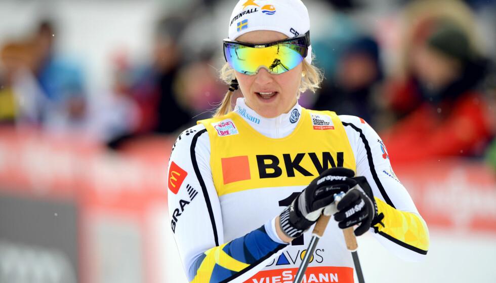 SEIER: Til Stina Nilsson. Foto: Bildbyrån