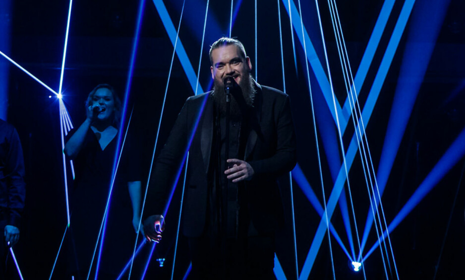 SEIER: Thomas Løseth stakk av med seieren i årets sesong av «The Voice» på TV 2. Foto: TV 2