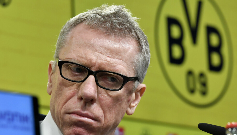 SPARKET: Peter Bosz er ferdig i Dortmund. Foto: AP Photo/Martin Meissner