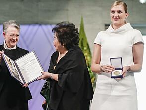 Nå mottar ICAN Nobels fredspris