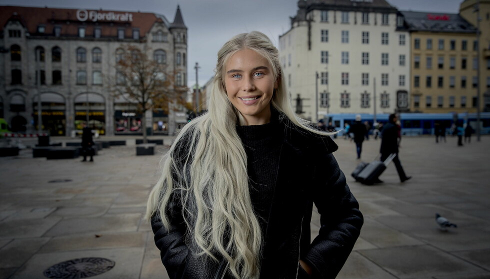 FORNØYD MED EGEN INNSATS: 21-åringen skulle ønske hun hadde gjort mer faenskap gjennom tv-oppholdet. Foto: Bjørn Langsem / Dagbladet