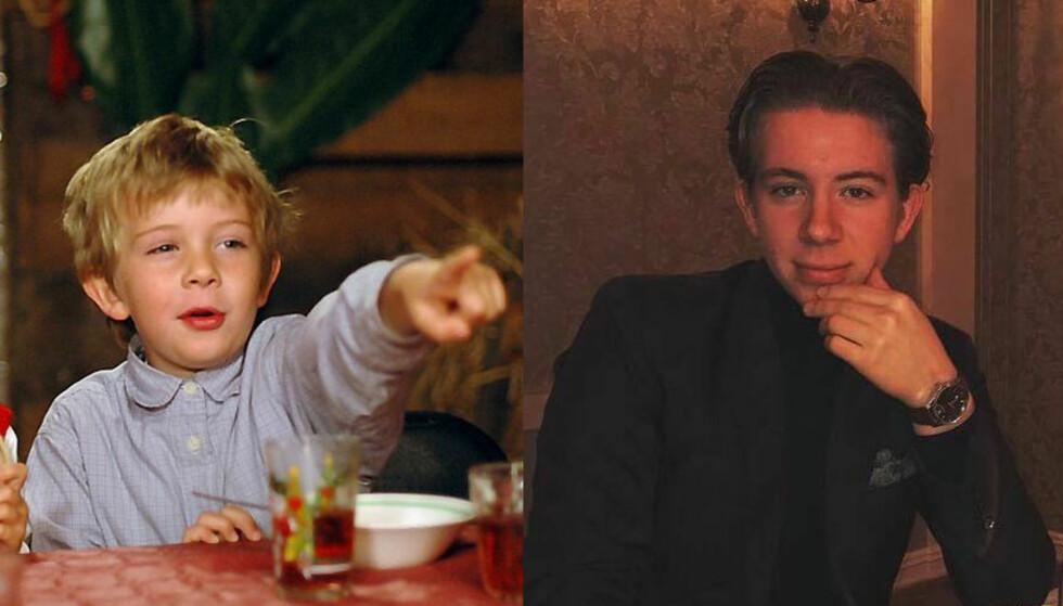MORTEN: Da Henrik Jacob Schatve spilte Morten var han fem år. I dag er han 18 år og gleder seg til å feire russetiden. Foto: NRK / Privat