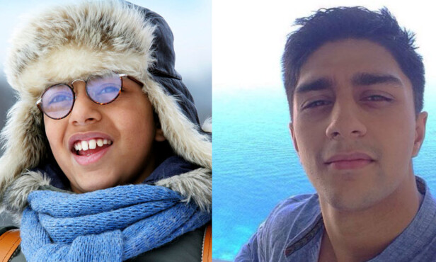 12 ÅR SIDEN: Hassan Ali Iqbal har forandret seg mye etter at han spilte Atif i «Jul i Svingen». Foto: NRK / Privat
