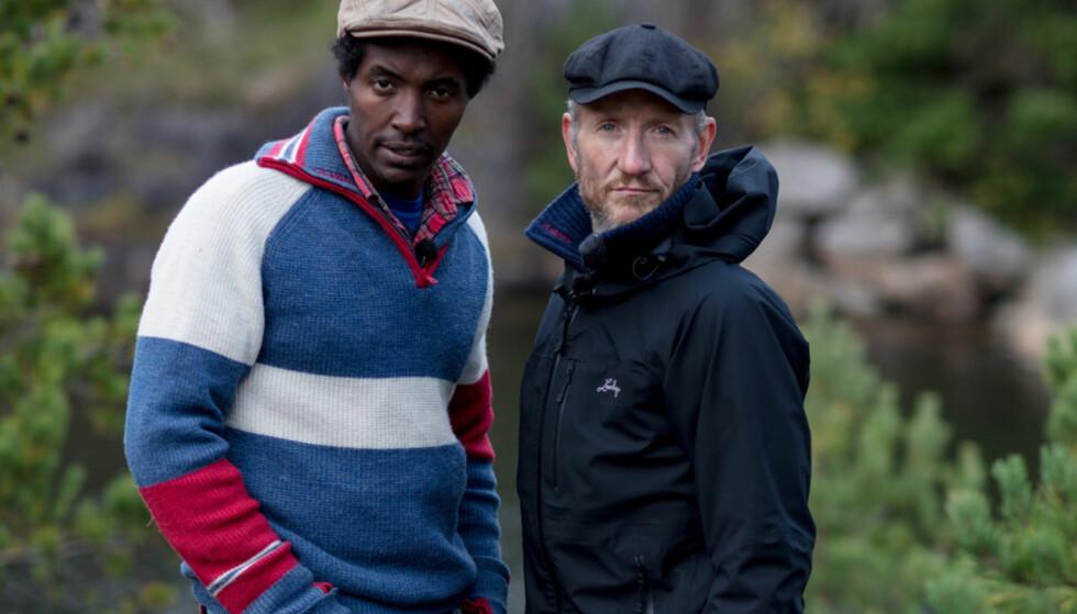 KNIVET: Kristian og Geir Magne var harde med hverandre inne på gården. Kristian har uttalt at han ikke ønsker å tilgi 47-åringen for det han gjorde mot deltakerne. Foto: Alex Iversen / TV 2