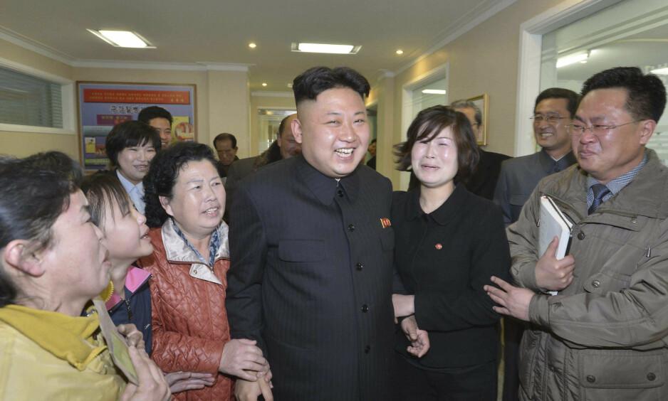 BRUTAL DIKTATOR: Kim Jong-un har styrt Nord-Korea med hard hånd. Foto: REUTERS/KCNA/NTB Scanpix