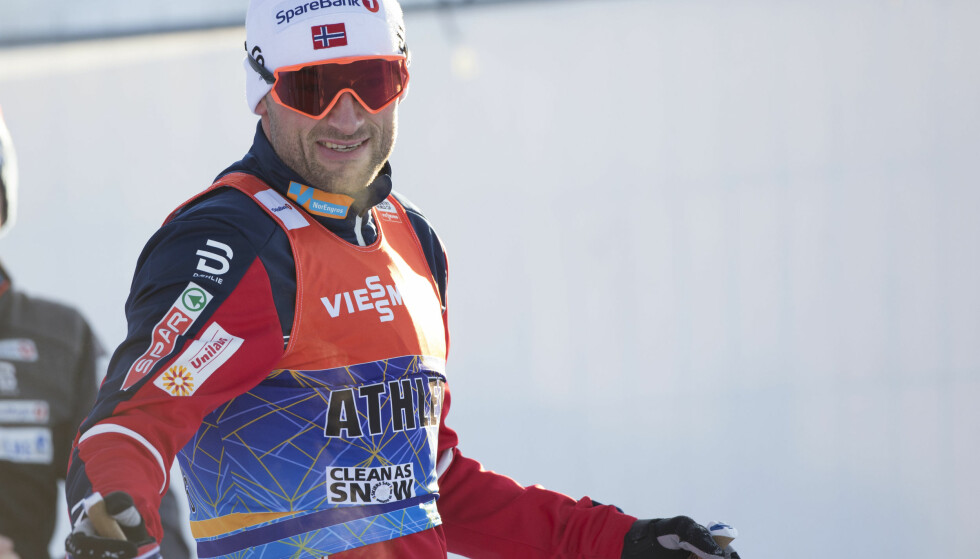 Lillehammer  20171201. Verdenscup ski nordiske grener. Petter Northug jr.   smilte under trening foran langrenn sprint i verdenscupen i nordiske grener i Lillehammer som skjer på lørdag. Foto: Geir Olsen / NTB scanpix