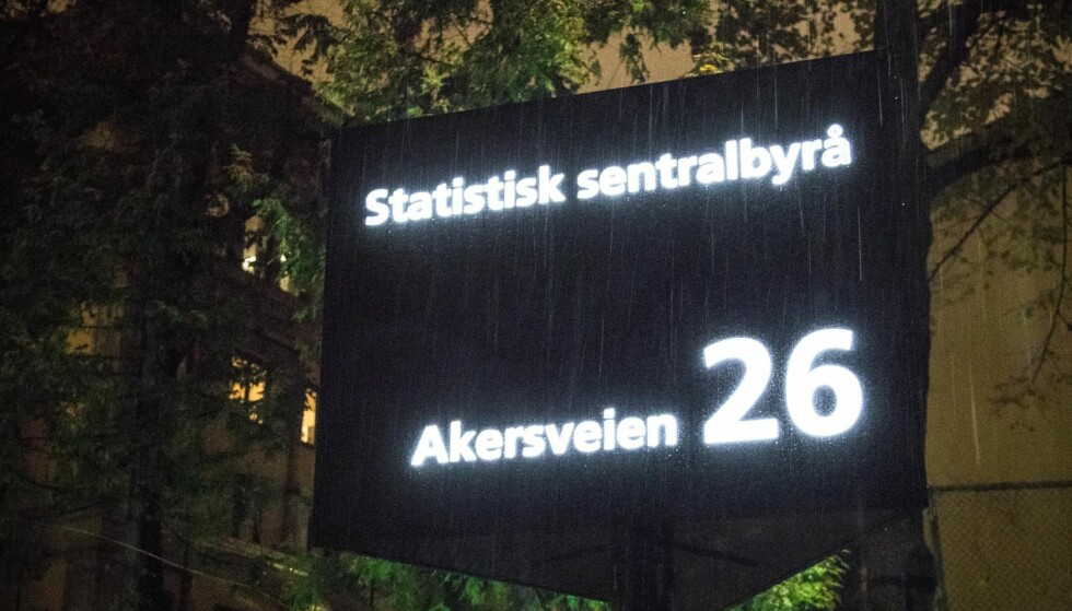 RAPPORT: SSB leverte krimrapport i dag. Foto: NTB Scanpix