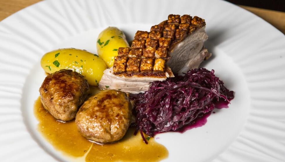«HELLIG»: Artikkelforfatteren ønsker at flere velger bort kjøttet på julaften. Men klarer du deg uten ribbe ? Foto: Torbjørn Berg / Dagbladet