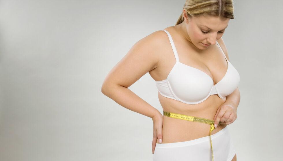 DET VERSTE FETTET: Magefettet blir beskrevet som det verste, men det finnes grep du kan ta for å få bedre helse og mindre bukfett. Illustrasjonsfoto: NTB Scanpix