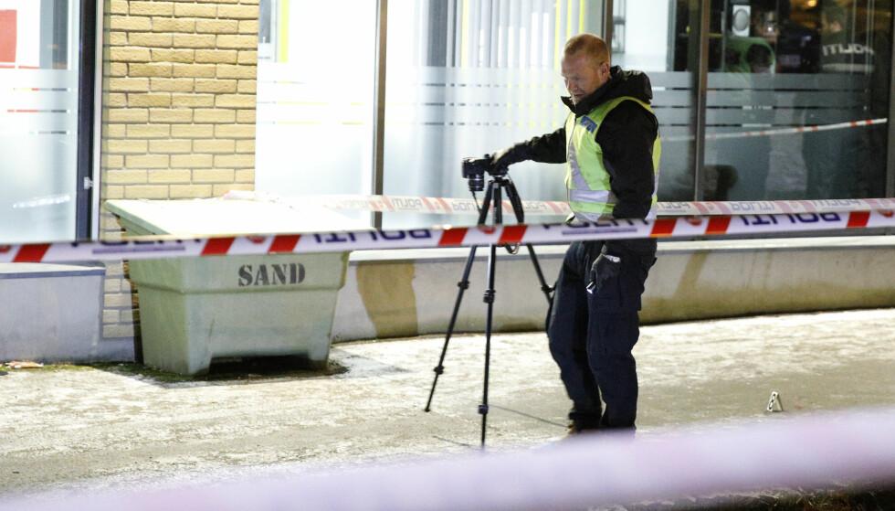 OSLO: En ung mann ble knivstukket på Furuset i Oslo mandag kveld. Foto: Audun Braastad / NTB scanpix