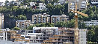 Boligprisene i Oslo ned 11,5 prosent