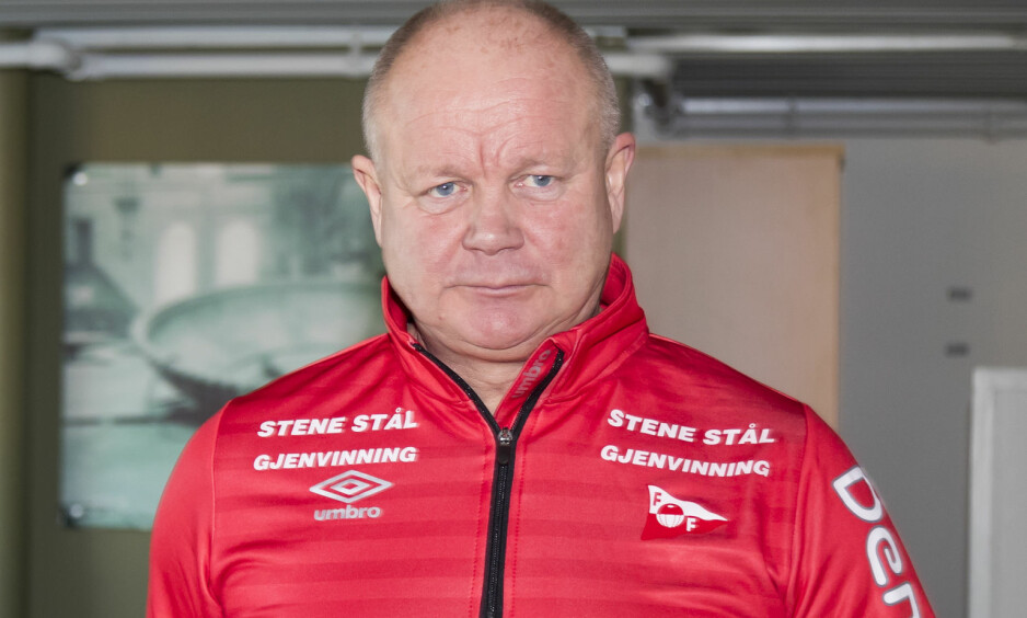 TØFF START: Per-Mathias Høgmo har bare vunnet to av fem kamper i Fredrikstad. Foto: Heiko Junge / NTB scanpix