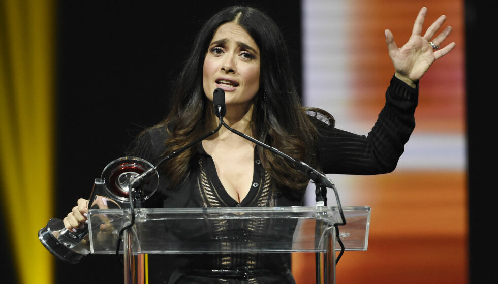 - MITT MONSTER: Skuespiller Salma Hayek har skrevet et lengre brev, publisert i The New York Times, der hun omtaler Harvey Weinstein som et monster og kommer med særdeles oppsiktsvekkende anklager mot filmprodusenten. Foto: NTB Scanpix