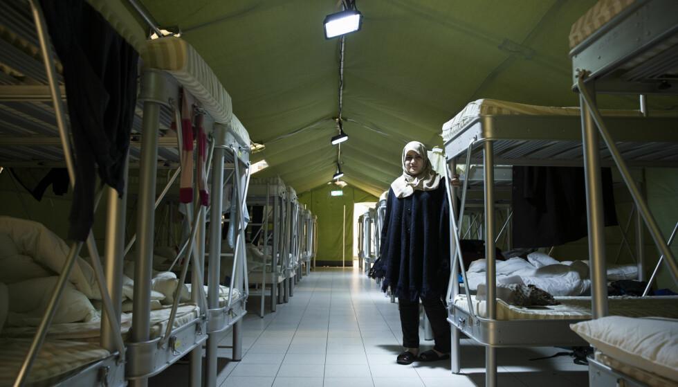 SENTRALISERT: Planene er at nesten alle asylsøkere skal bo i et stort, sentralisert aylmottak på Råde. Foto: Berit Roald / NTB Scanpix