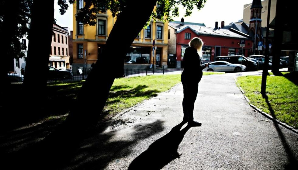 Vil ikke melde fra: «Celin» tror dommen gjør det enda vanskeligere for prostituerte å gå til politiet. - For min del blir det veldig vanskelig å kreve erstatning for noe nå, sier hun. Foto: Nina Hansen / Dagbladet