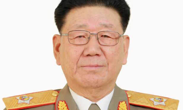 GENERAL: Hwang Pyong So. Foto: KCNA/Reuters/Scanpix