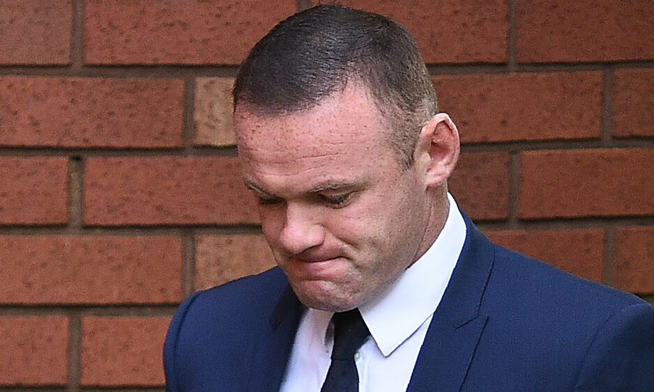DØMT: Wayne Rooney ble fratatt lappen i to år og dømt til 120 timers samfunnstjeneste for fyllekjøring. Foto: NTB scanpix