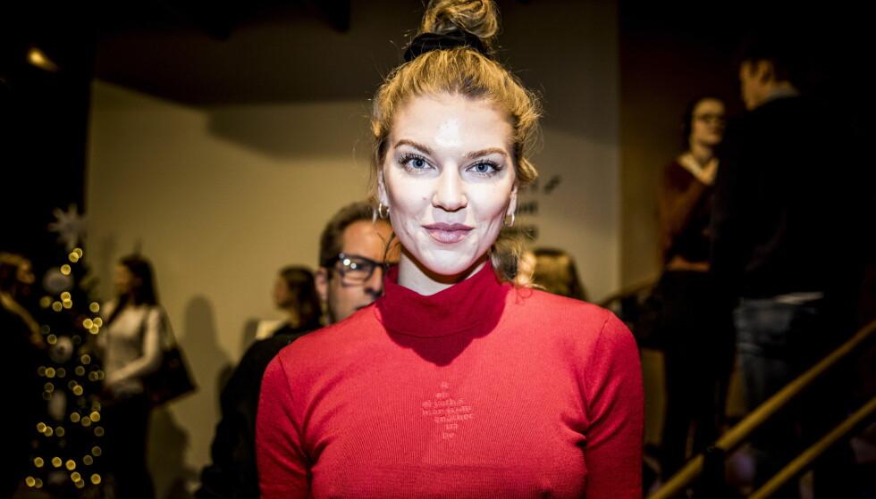 - BLE NOEN TÅRER: Modell Maiken Wahlstrøm Nilssen forklarer at hun ble litt overfølsom inne på gården. Foto: Christian Roth Christensen / Dagbladet