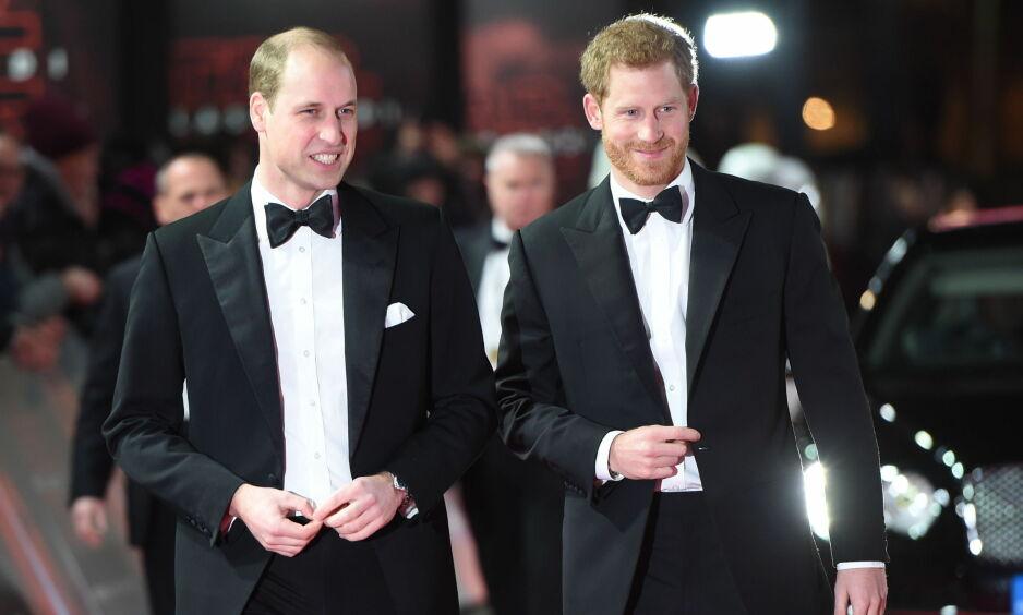 VALGETS KVALER: Prins William får tilsynelatende et tett program 19. mai når hans bror prins Harry skal gifte seg med skuespiller Meghan Markle. Foto: NTB Scanpix