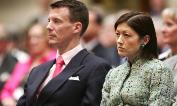 SKILTE LAG ETTER NI ÅR: Prins Joachim og prinsesse Alexandra var gift fra 1995 til 2005. Hun skal ha innledet et forhold med parets fotograf, som hun var gift med fra 2007 til 2015. Foto: NTB scanpix