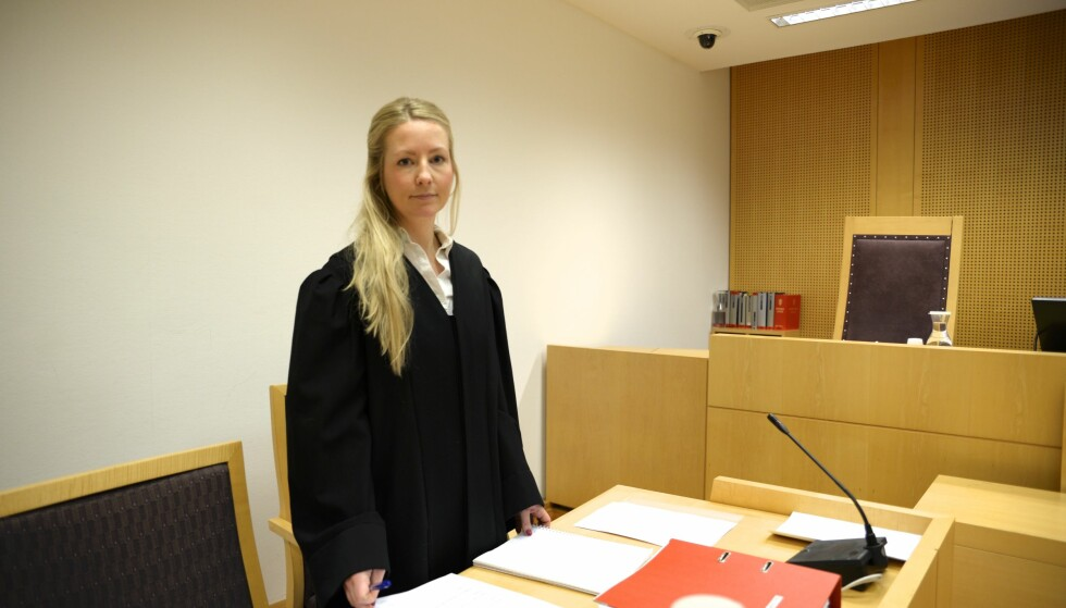 AKTOR: Politiadvokat Mia Marie Nordhagen. Foto: Trym Mogen