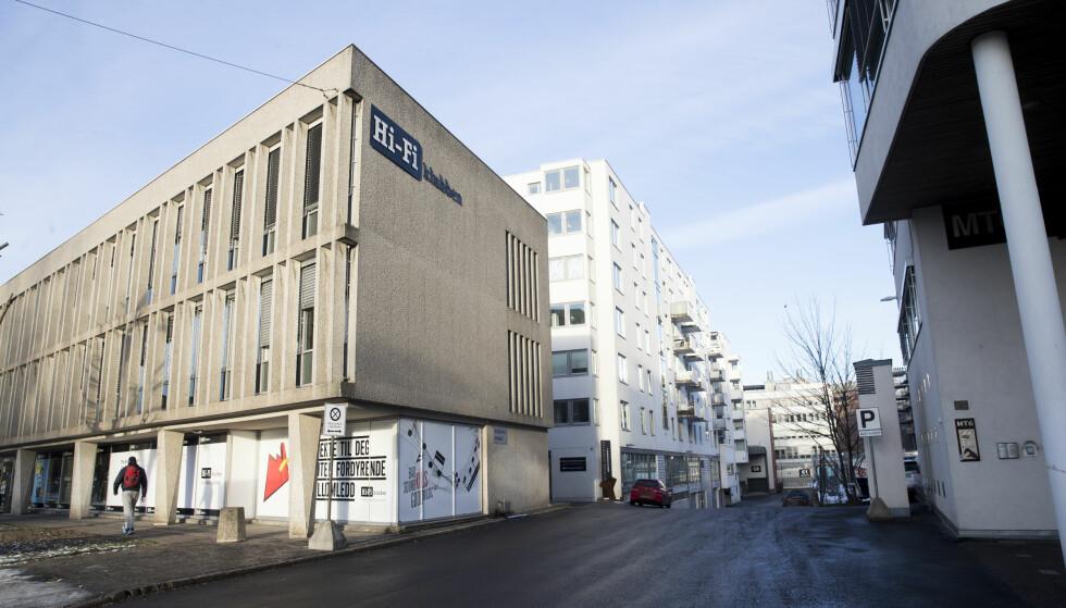 Ring 2: Myhrens verksted er et privat eid område. Det foreslås å plassere bomstasjon i adkomsten fra Ring 2 (IR10). Foto: Lise Åserud / NTB scanpix