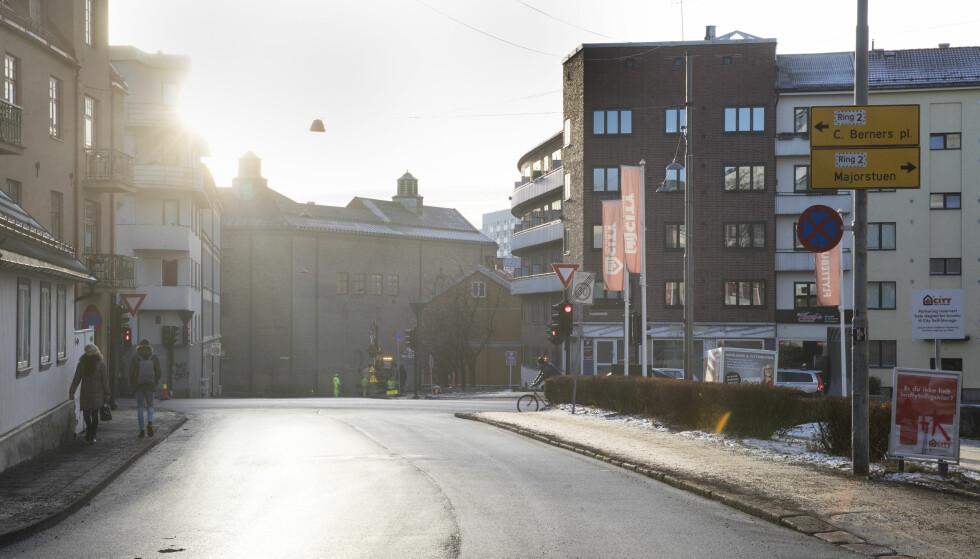 Sandakerveien: I Sandakerveien (IR11) plasseres bomstasjon ved Sandakerveien 17. Foto: Lise Åserud / NTB scanpix