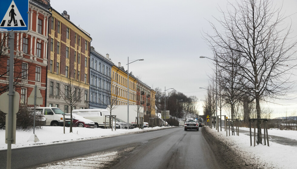 Oslo  20171215. Forslag til bomringer. I Konows gate (IR29) plasseres det bomstasjon øst for kryss Kongsveien og Mosseveien. Forslag til bomringer. Foto: Lise Åserud / NTB scanpix