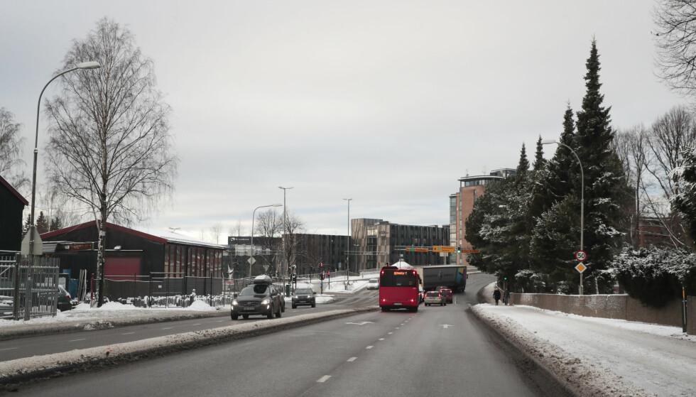 Oslo  20171215. Forslag til bomringer. Forslaget gir bomstasjon i Østensjøveien (IR34) mellom rundkjøringen med Tvetenveien og lyskrysset ved Helsfyr kollektivknutepunkt.  Forslag til bomringer. Foto: Lise Åserud / NTB scanpix
