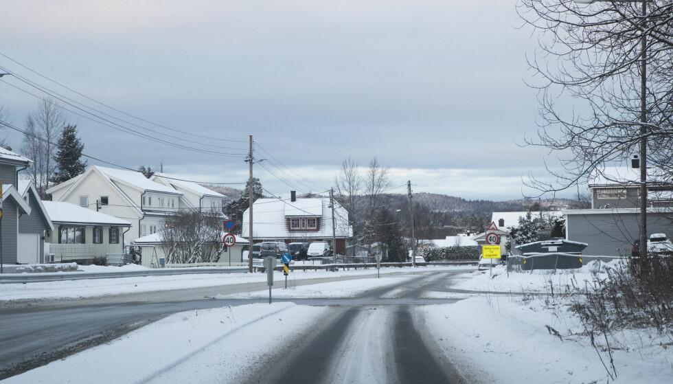 Starveien: Bomstasjon Starveien (BG4) er plassert med tanke på å gjøre det mulig for trafikk mellom Romerike-nord (E6) og Lørenskog/Ahus (Rv 159) å kjøre via Robsrud-krysset uten å betale. Foto: Lise Åserud / NTB scanpix