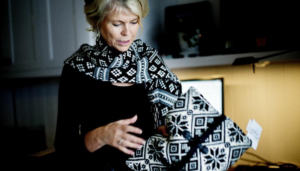 SELGER: Hilde Midthjell selger Dale of Norway til Rossignol. Foto: Siv Johanne Seglem / Dagbladet