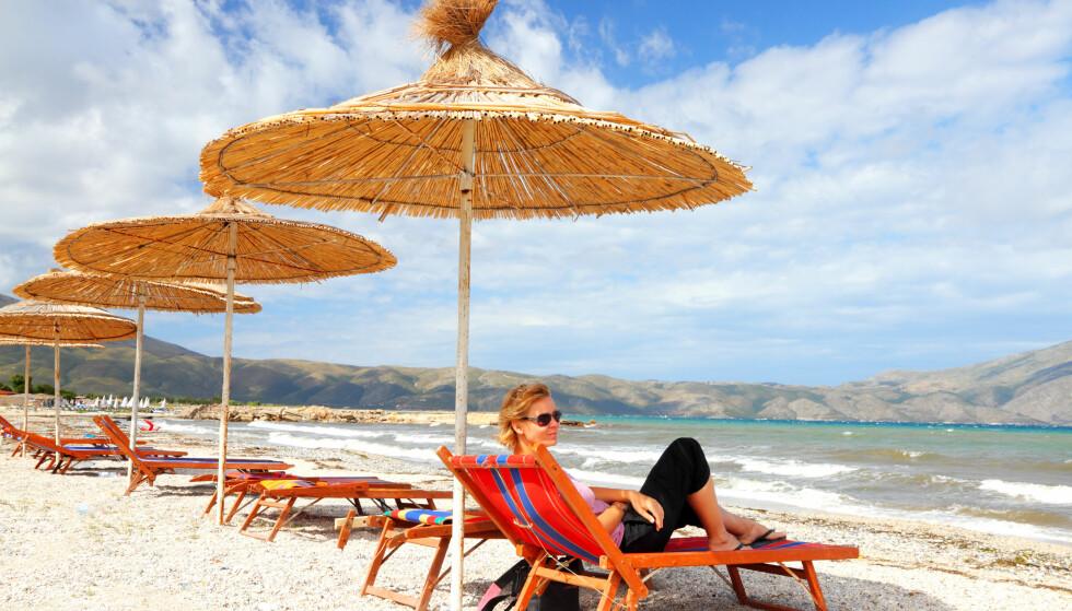 NYTT TURISTMÅL: Albania er fortsatt i sin spede begynnelse når det gjelder masseturisme, men de lekre strendene frister stadig flere. Foto: Shutterstock / NTB Scanpix