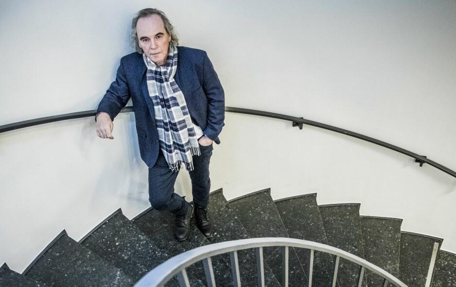 VURDERT: «Det internasjonale gjennombruddet» ble fagfellevurdert av to forskere, skriver Dreyers sjefredaktør om kontroversielle Terje Tvedts bok. Foto: Christian Roth Christensen / Dagbladet
