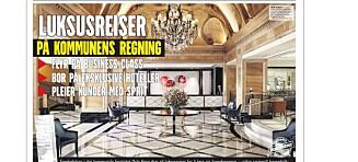 Refses etter luksusturer til Kina