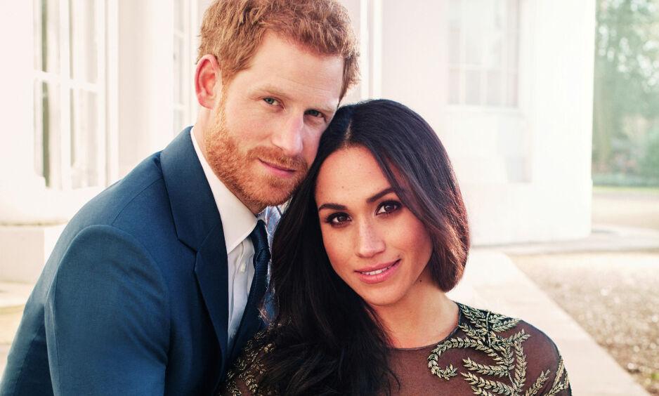 TØFF TID FØR DEN STORE DAGEN: Førstkommende lørdag får prins Harry sin Meghan Markle. Tiden før bryllupet har imidlertid vært preget av en rekke uforutsette hendelser, blant annet fra familien hennes. Foto: NTB scanpix