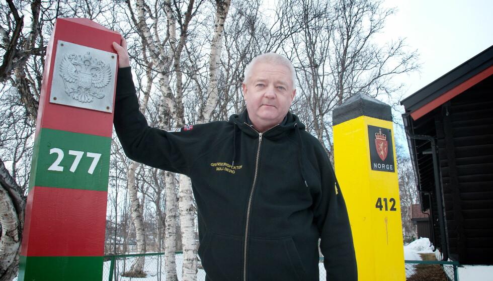 SOM FRI MANN: Frode Berg ble presset av PST. Det samme ble ansatte i Ølen Betong. Foto: NTB Scanpix / Martin Gramnæs, Sør-Varanger Avis