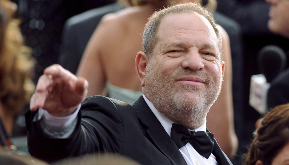 100 KVINNER: Over 100 kvinner har anklaget filmprodusenten Harvey Weinstein for overgrep, trakassering og voldtekt. I dag blir han siktet og pågrepet av politiet. Foto: NTB scanpix.
