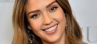 Jessica Alba ble mamma for tredje gang