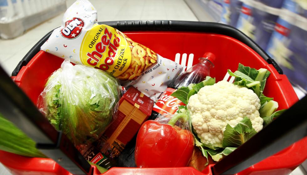 MATPRISER: Prisdiskriminering i dagligvarebransjen fører til syvende og sist til dyrere mat for forbrukerne. Foto: Erlend Aas / Scanpix